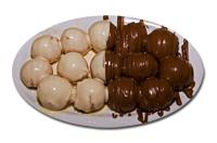 Λουκουμαδάκια σοκολάτας