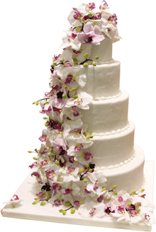 Wedding cake by kilo