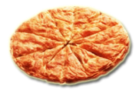Traditional rustic pie 2300gr. (Leek pie)